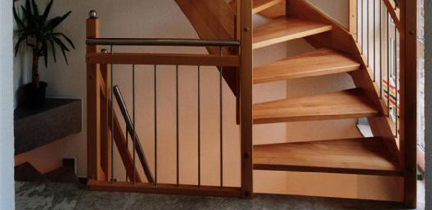 Escaliers bois ou m tal adapt ck de - Escalier helicoidal bois metal ...