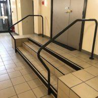 MAN escaliers intérieur