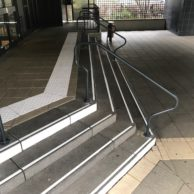Mise aux normes escaliers extérieurs