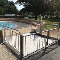 Portail protection piscine